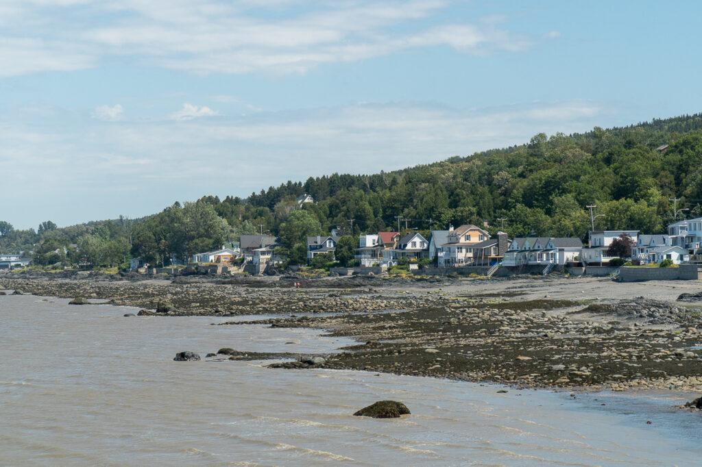 rivage à Notre-Dame-du-Portage