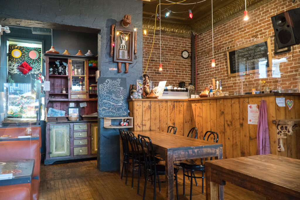 salle à manger du Café L'Innocent