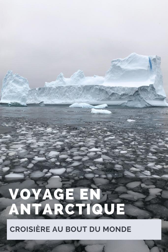 Voyage en Antarctique - le bout du monde