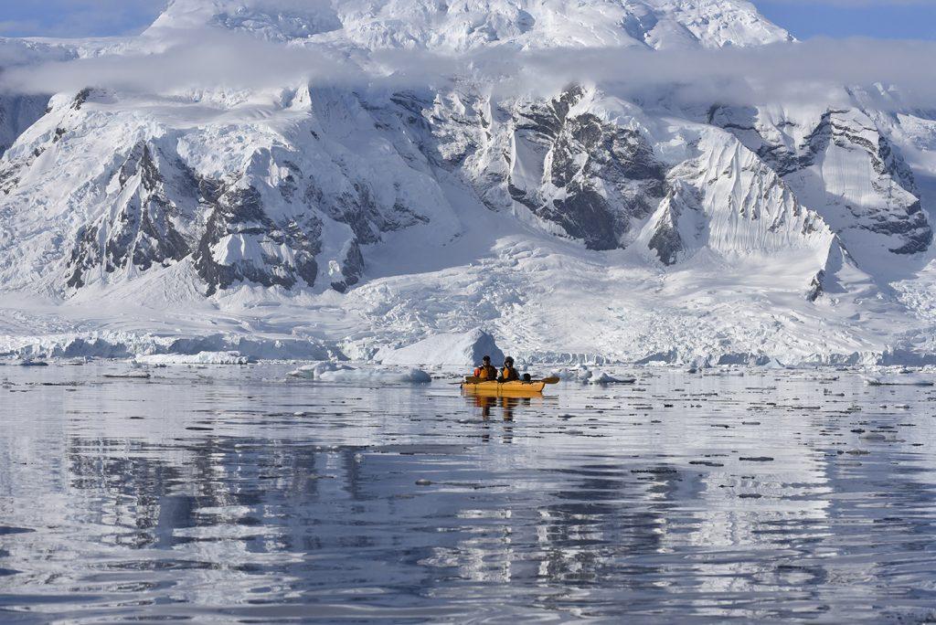 Kayak de mer en Argentine