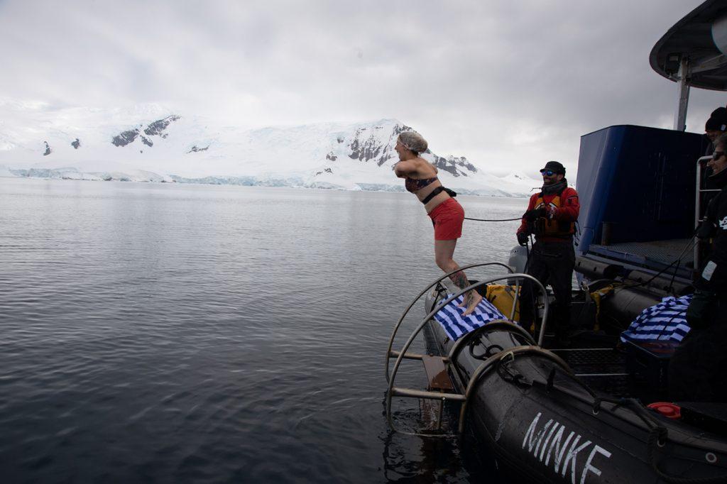 Plongeon polaire en Antarctique