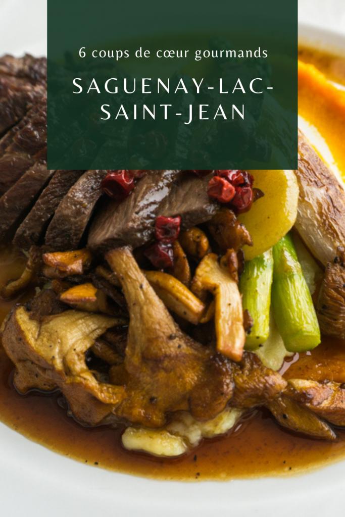 6 coups de coeur gourmands au Saguenay-Lac-Saint-Jean