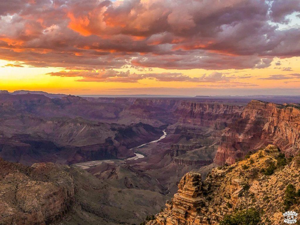 Grand Canyon en road trip dans l'Ouest américain - Dreams World