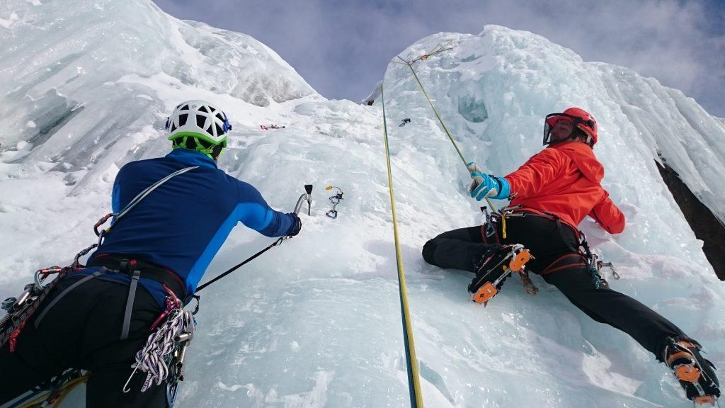 escalade sur glace au Québec en hiver - Gipfelsturm69 de Pixabay