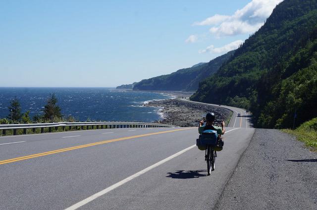 Gaspésie à vélo - La Cyclonomade