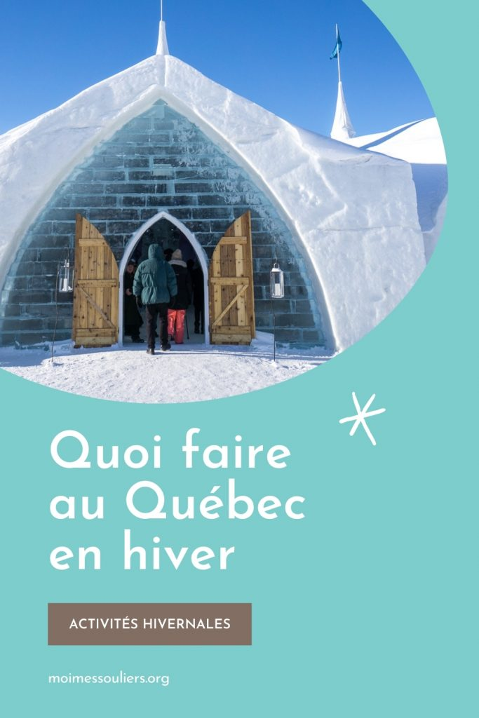 Quoi faire au Québec en hiver