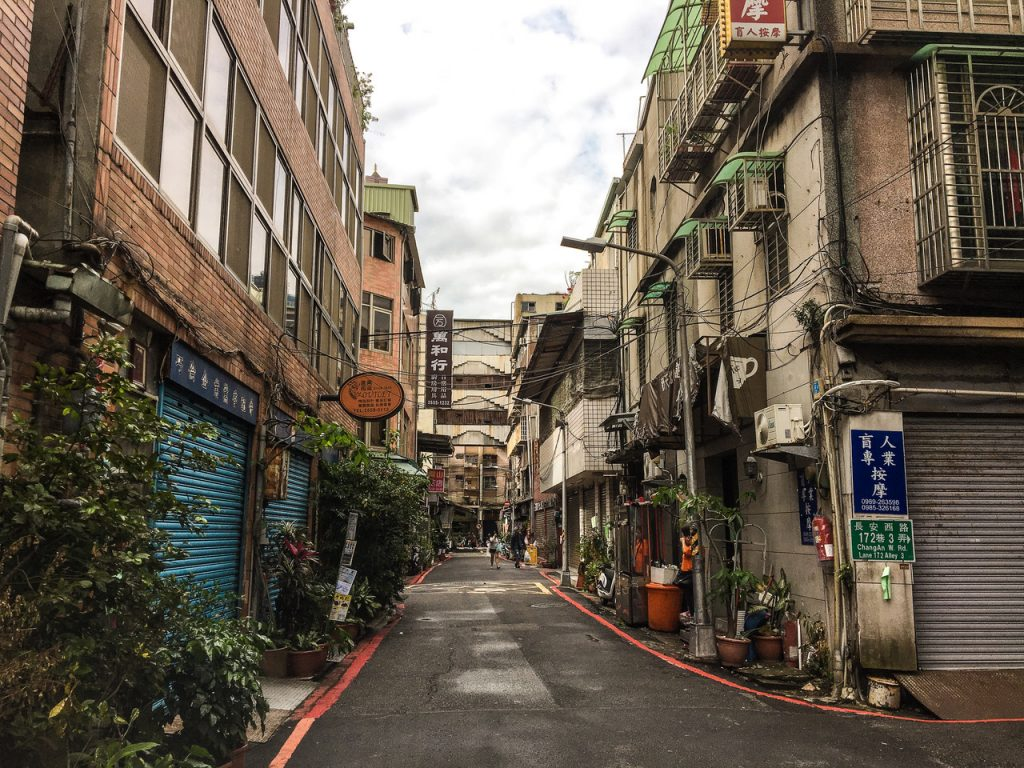 Rues de Taipei à Taïwan - Voyager sa vie