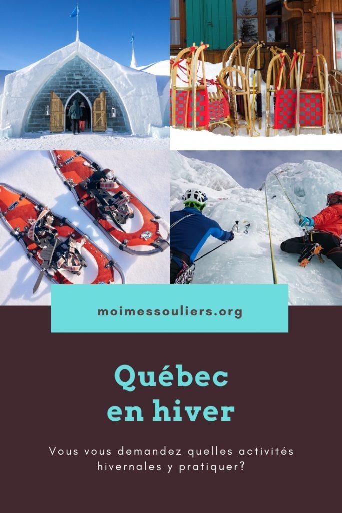 Suggestions à faire en hiver au Québec