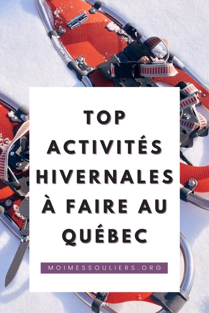 Top activités hivernales au Québec