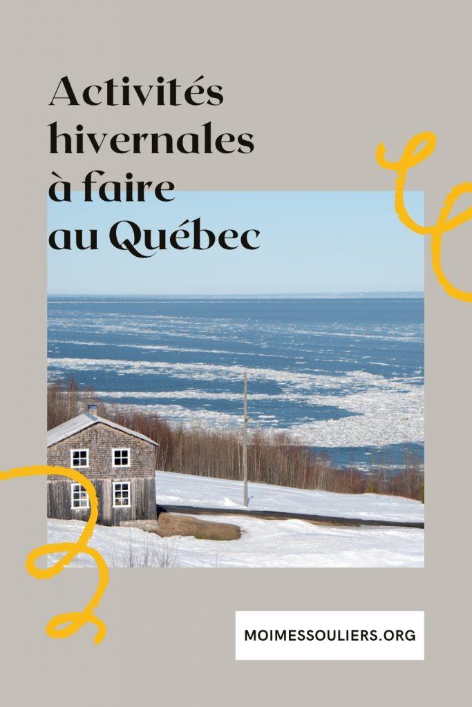 Top meilleures activités hivernales à faire au Québec