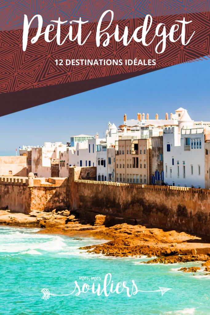 12 destinations idéales pour les petits budgets