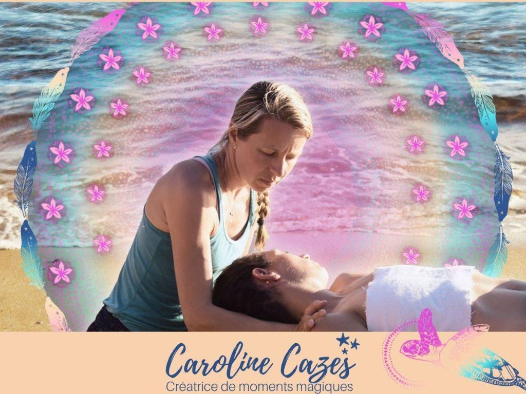 Caroline Cazes - meilleur massage aux îles de la Madeleine du parc de Gros-Cap