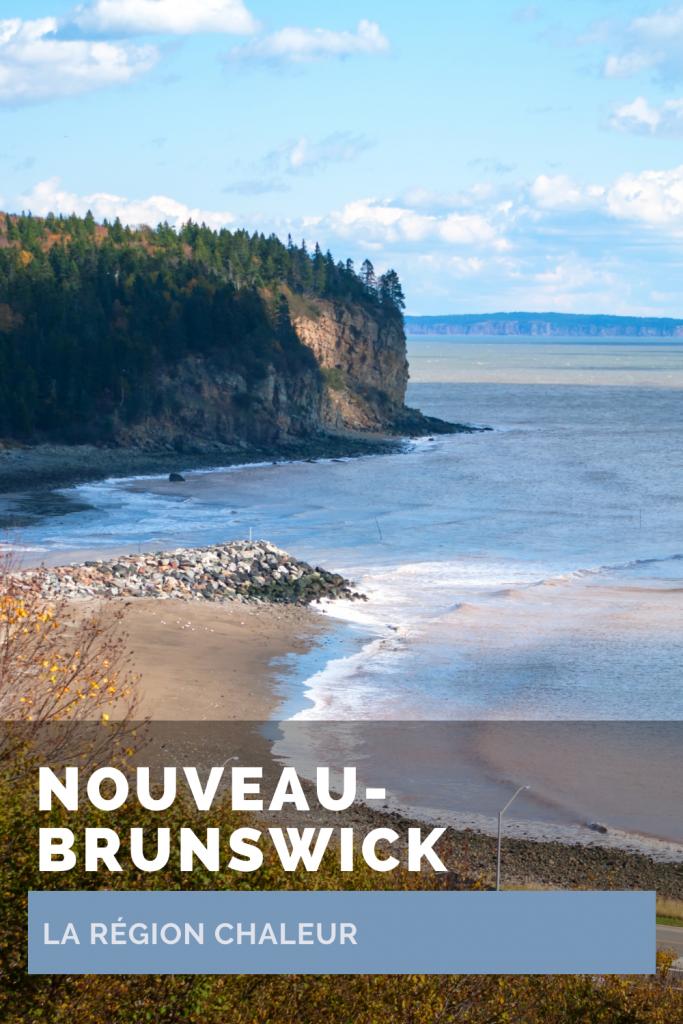 La région Chaleur au Nouveau-Brunswick