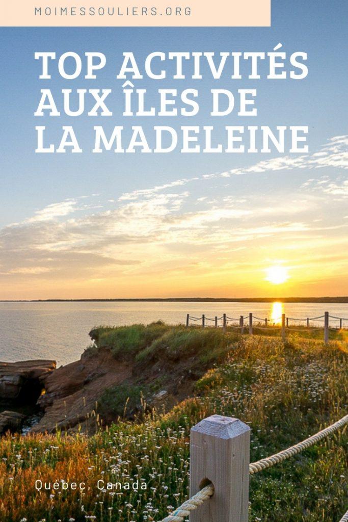 Top activités aux îles de la Madeleine