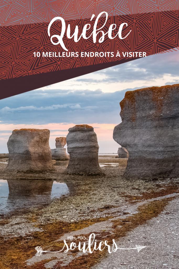 Les 10 meilleurs endroits à visiter au Québec