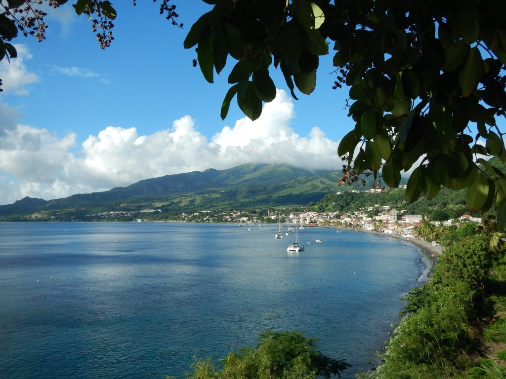 Baie de Saint-Pierre - Voyage en Martinique