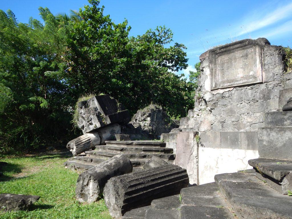Quoi faire en Martinique - Vestiges de l'église St-Pierre
