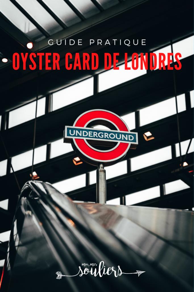 Guide pratique pour les transport de Londres, la Oyster Card