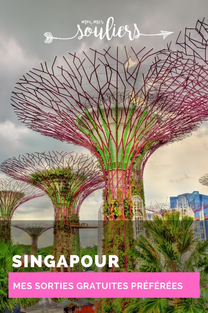 Mes sorties gratuites préférées à Singapour