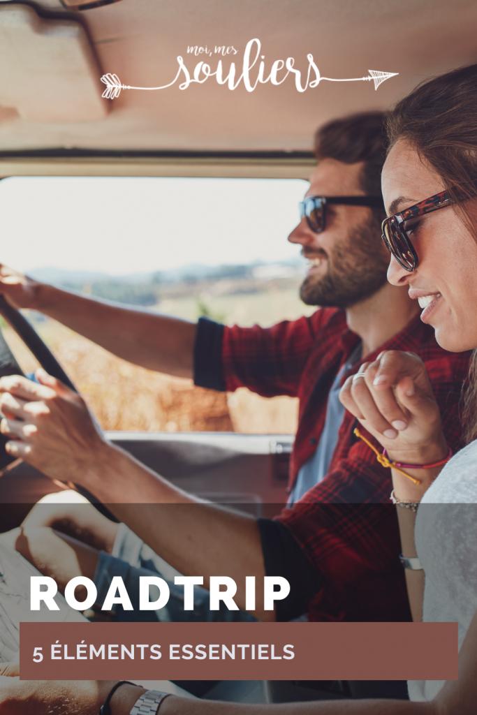 5 éléments essentiels en roadtrip