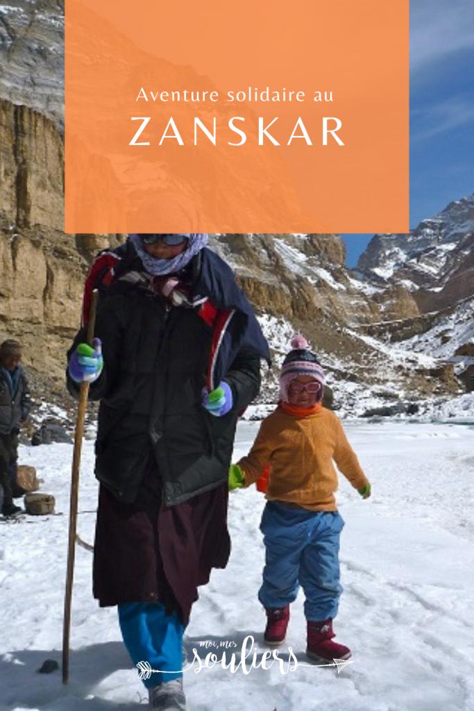 Aventure solidaire au Zanskar en Asie
