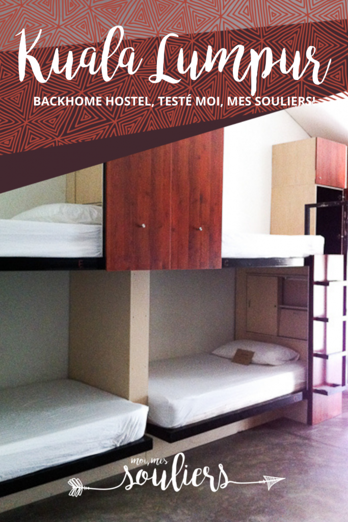 hébergement Backhome Hotel à Kuala Lumpur en Malaisie