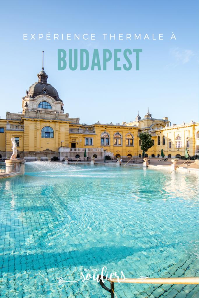 Expérience thermale à Budapest, Hongrie