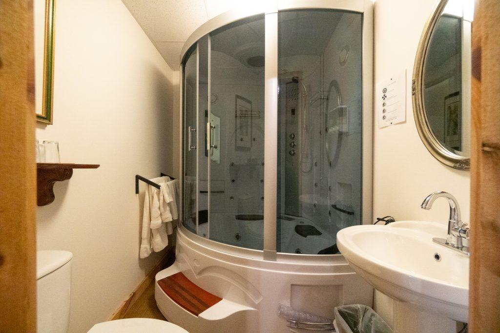 Salle de bains Au Domaine de la Giroux-Ette
