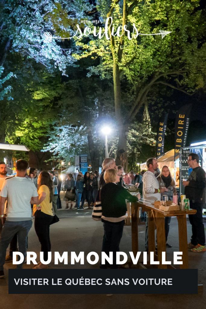 Visiter Drummondville sans voiture