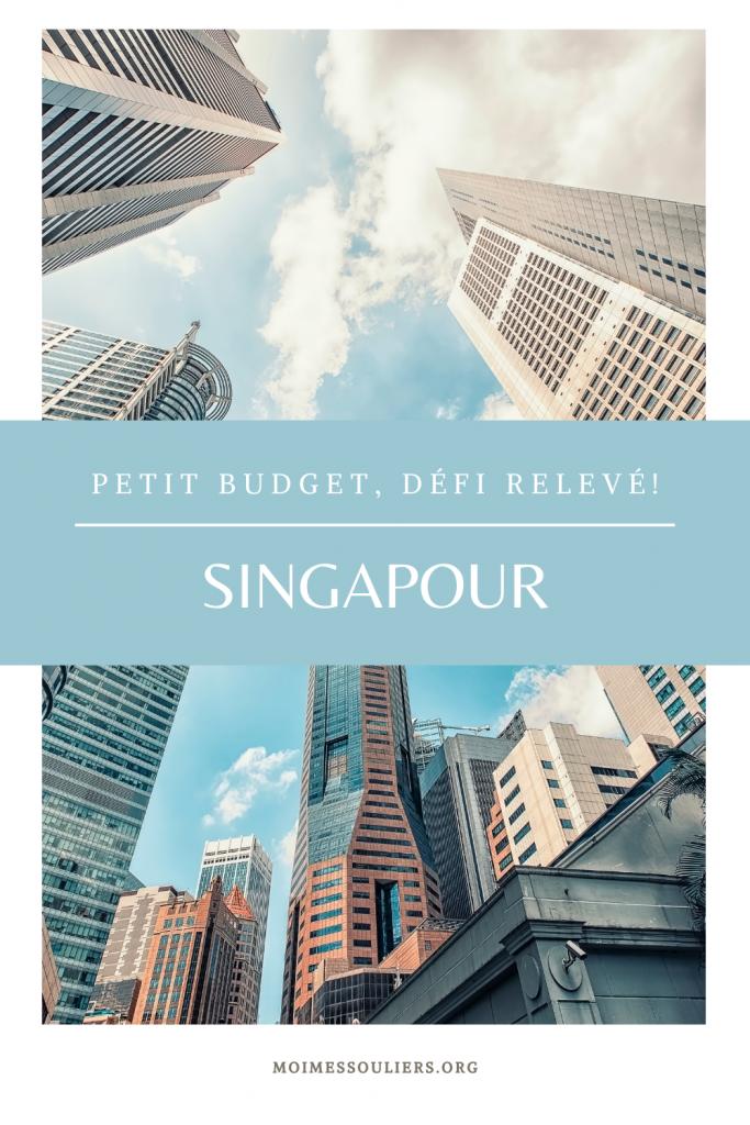 Voyager avec un petit budget à Singapour, défi relevé!