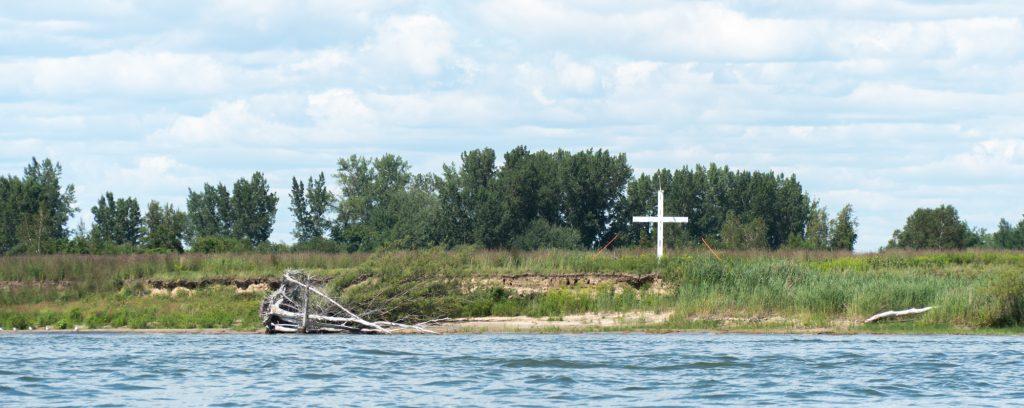 Croix de l'île de Grâce - Sainte-Anne-de-Sorel