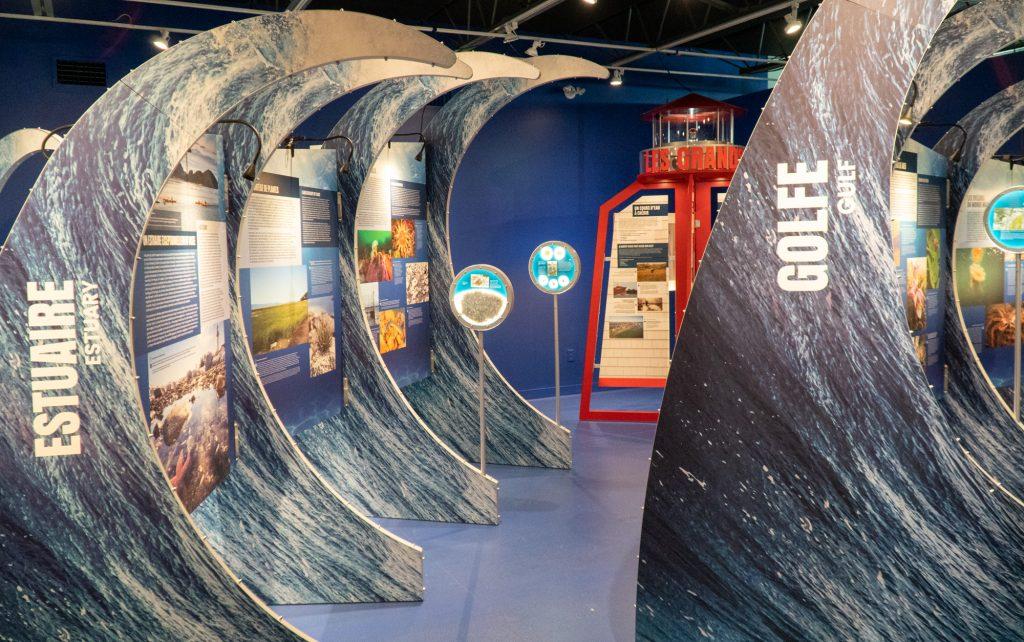 Exposition sur le fleuve Saint-Laurent au Biophare de Sorel-Tracy