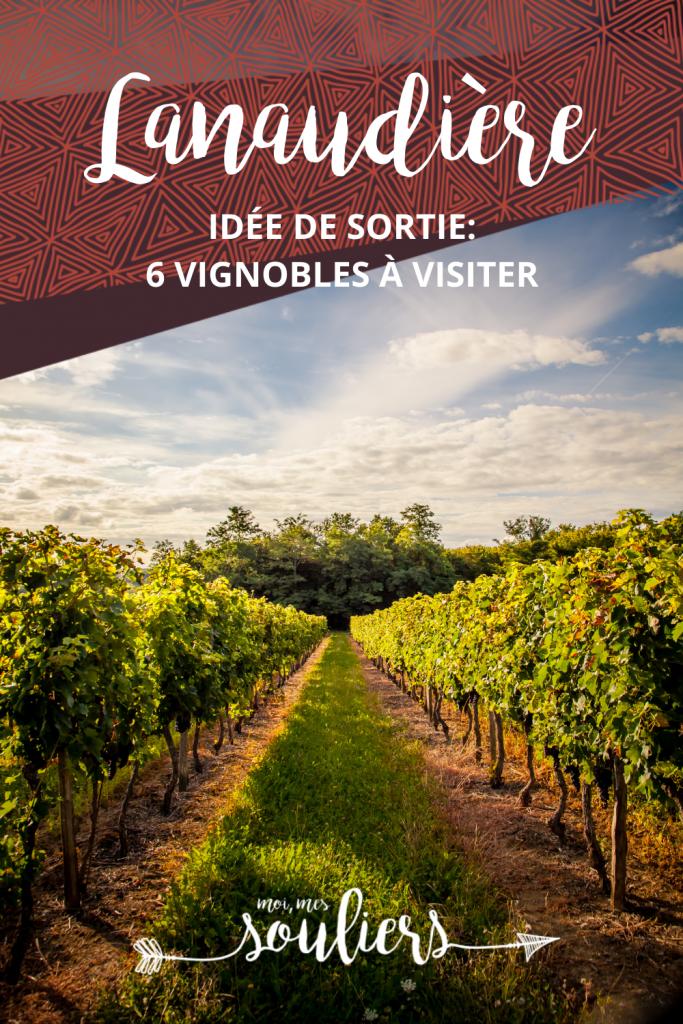 Vignobles à visiter dans Lanaudière