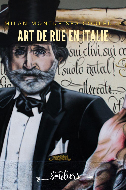 L'art de rue en Italie; Milan montre ses couleurs