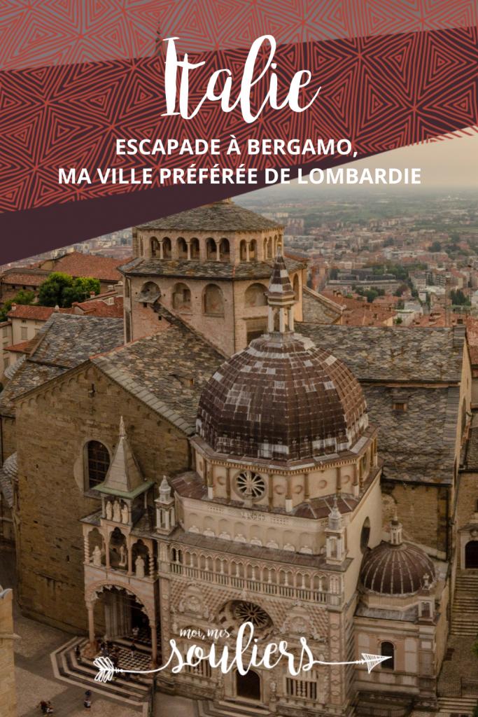 Escapade à Bergamo en Italie, Lombardie