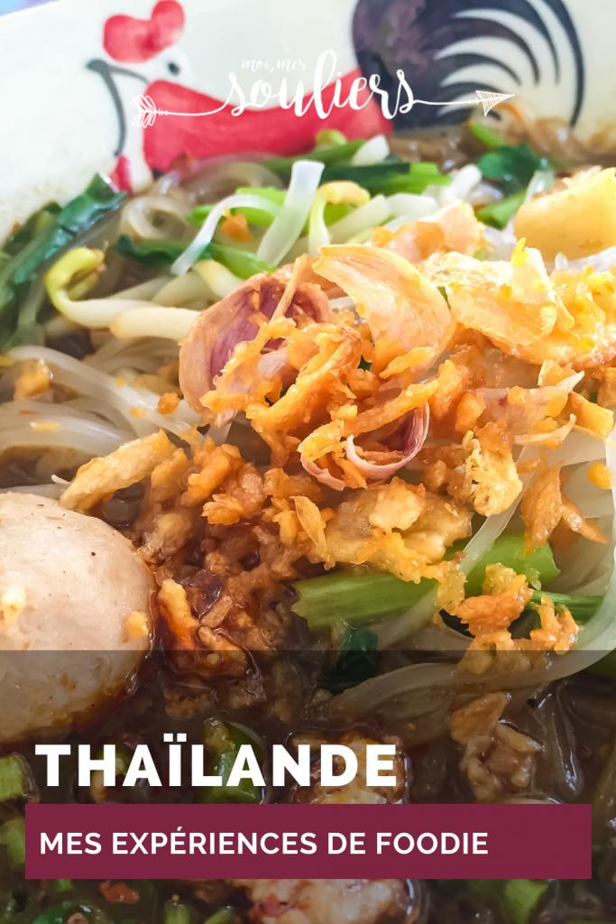 Mes expériences de foodie en Thaïlande